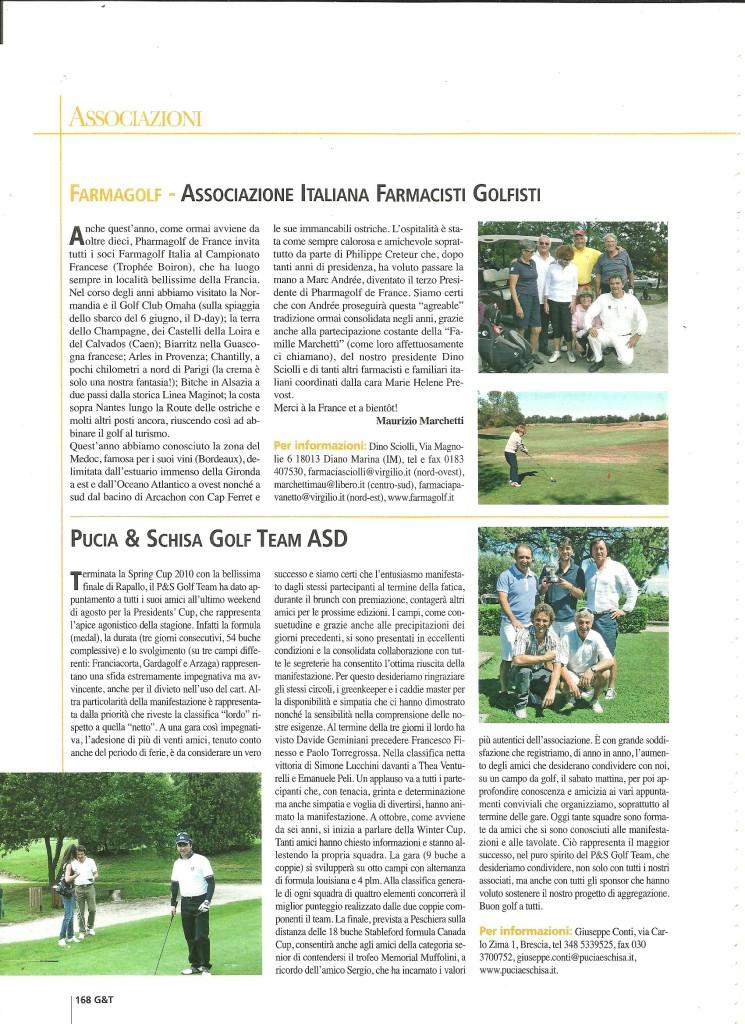 GOLF& TURISMO NOVEMBRE 2010 PAG. 2-ok